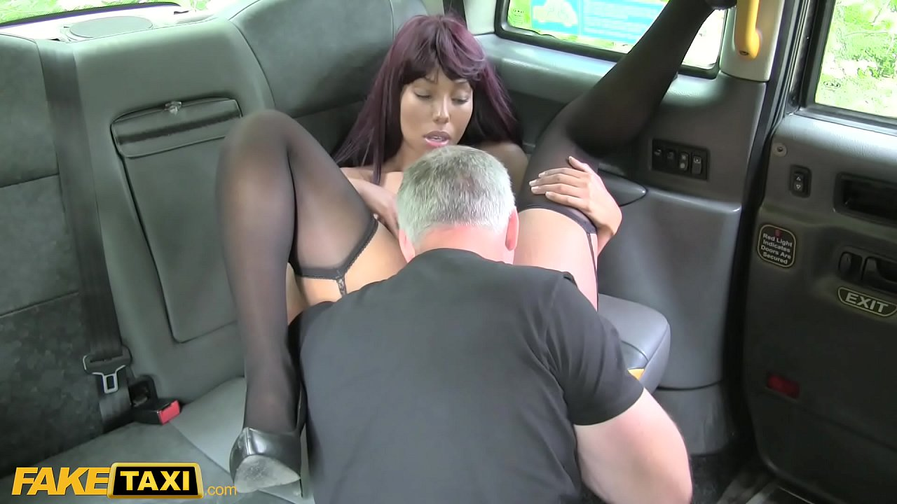Ebony Fake Taxi Creampie