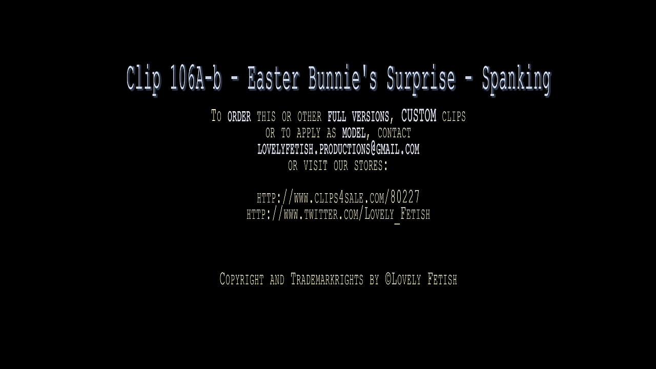 Clip 106A-b Easter Bunnie's Surprise - Spanking - Full Version Sale: $4  thumbnail