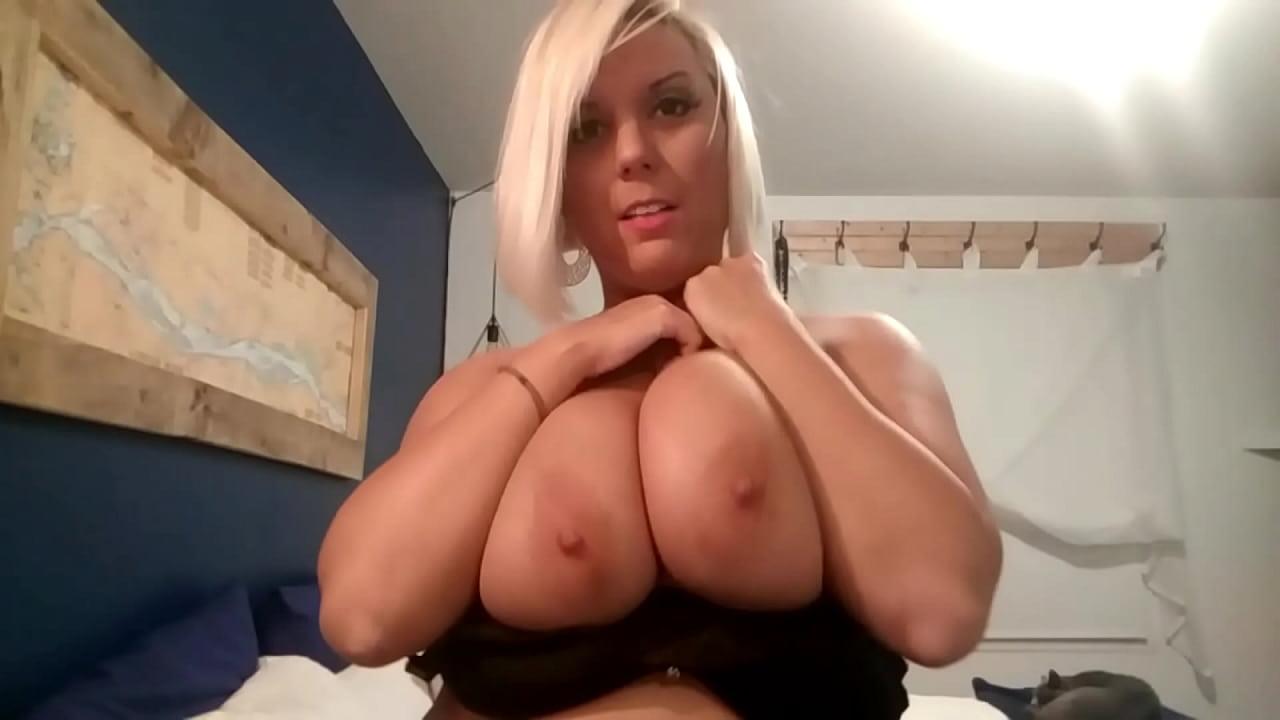 French Blonde Big Tits Amateur