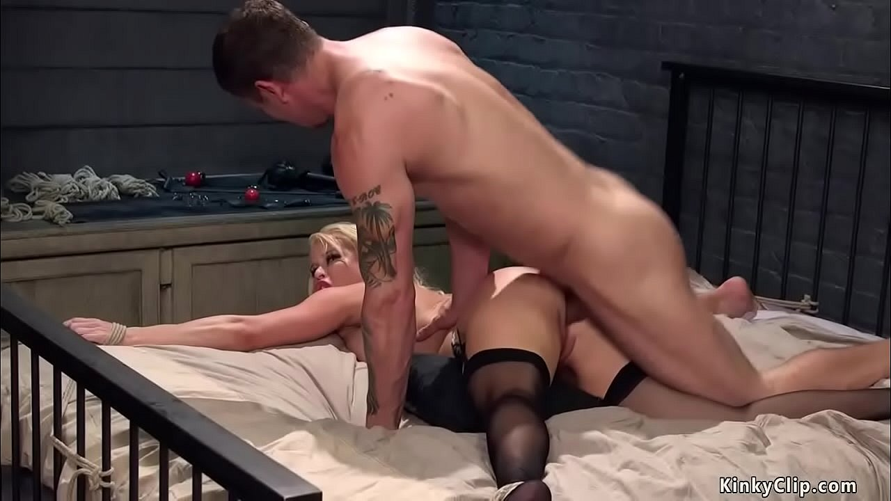 wife shared friend blindfolded