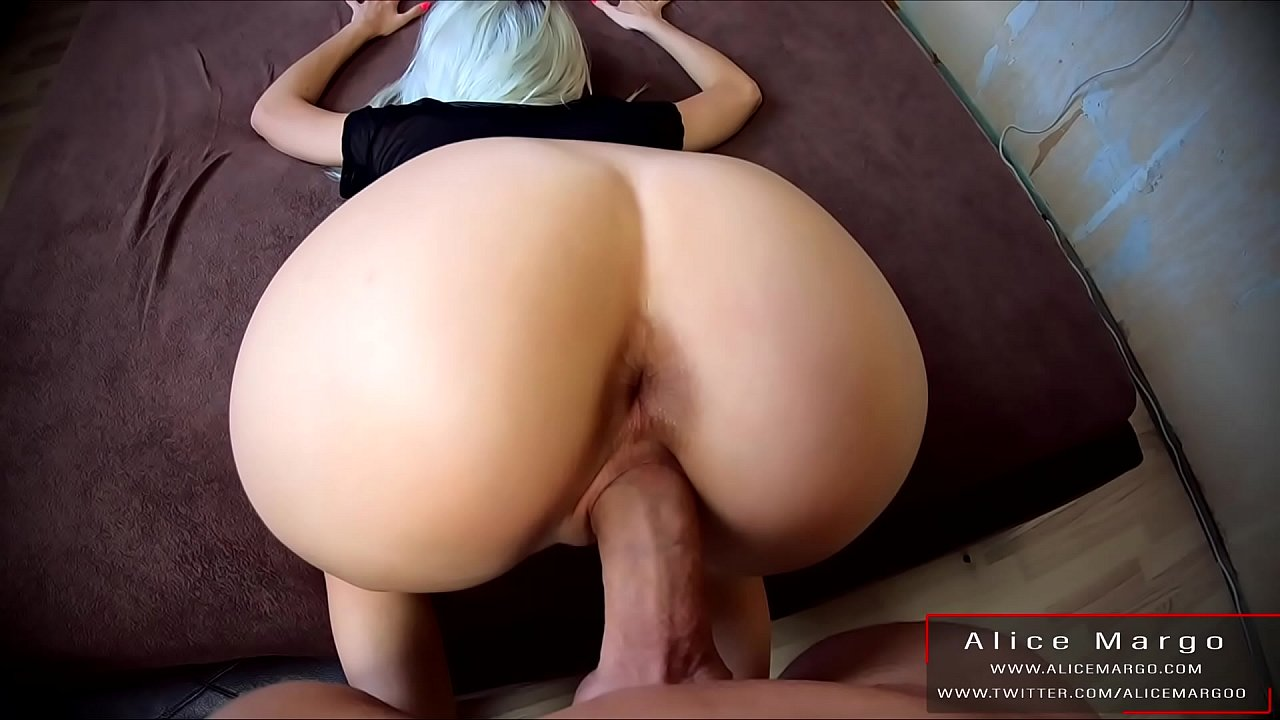 Amateur Blonde Doggystyle Pov