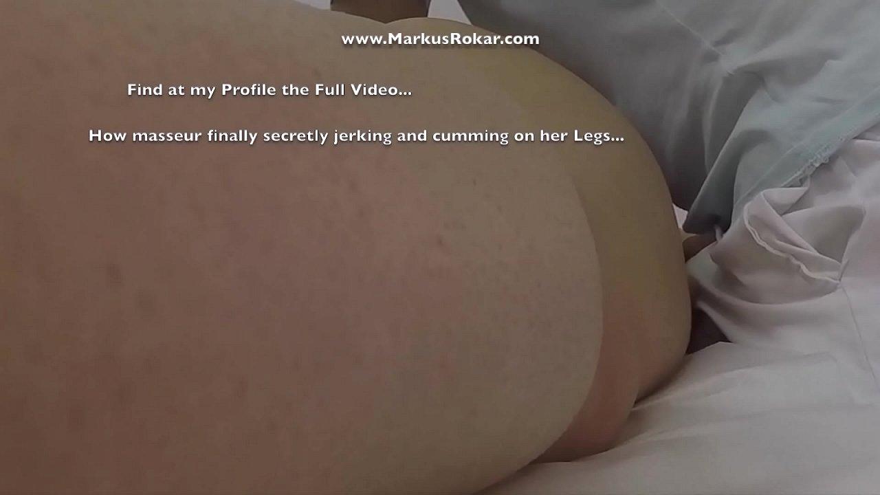 Massage Hidden Camera Records Fat Wife Groping Masseur's Dick