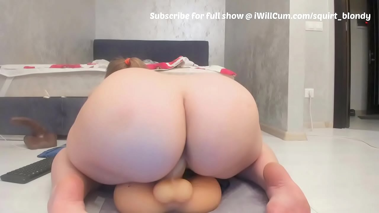 Mature Solo Riding Dildo