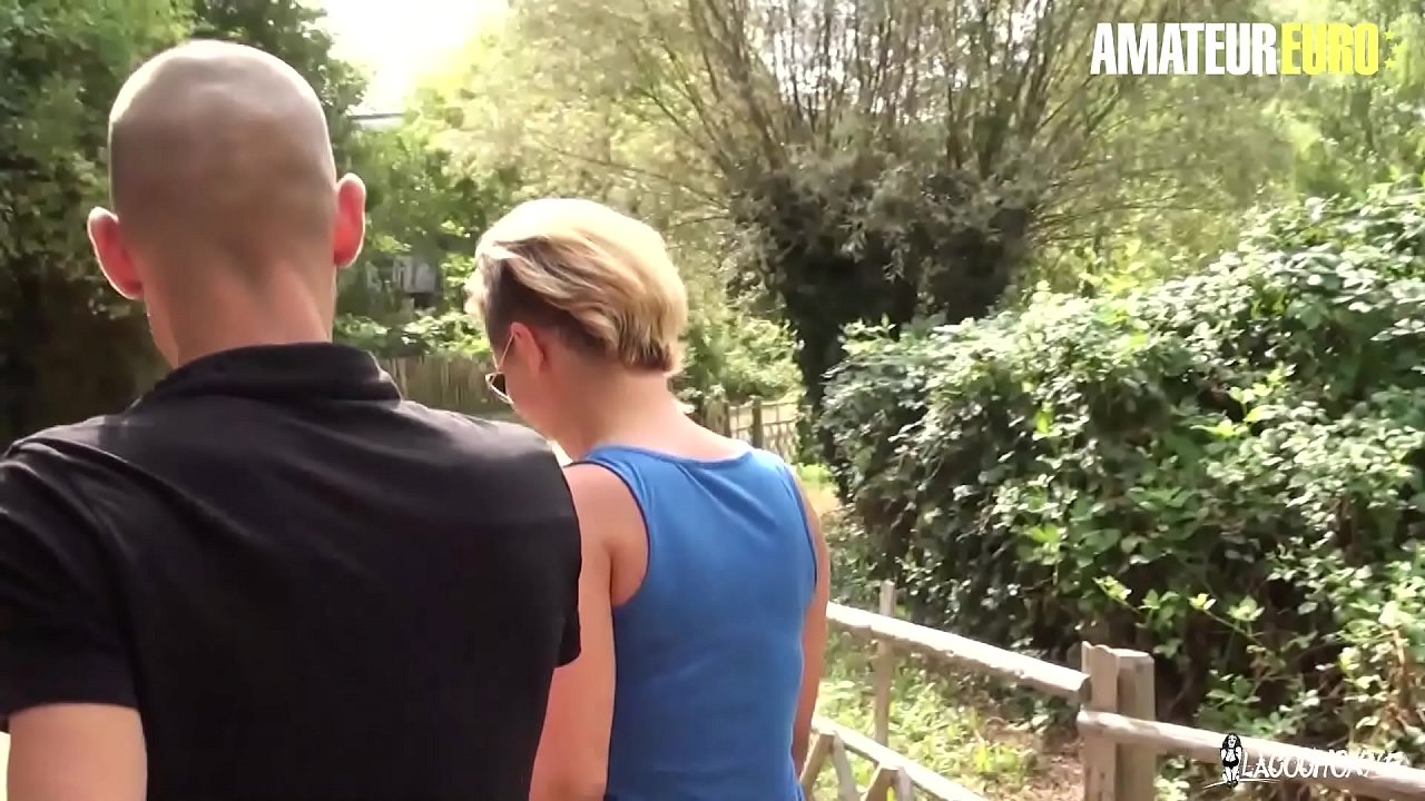 AMATEUR EURO -  BIG ASS French Newbie Celia Gets Picked Up And Fucked Properly By Eager Guy