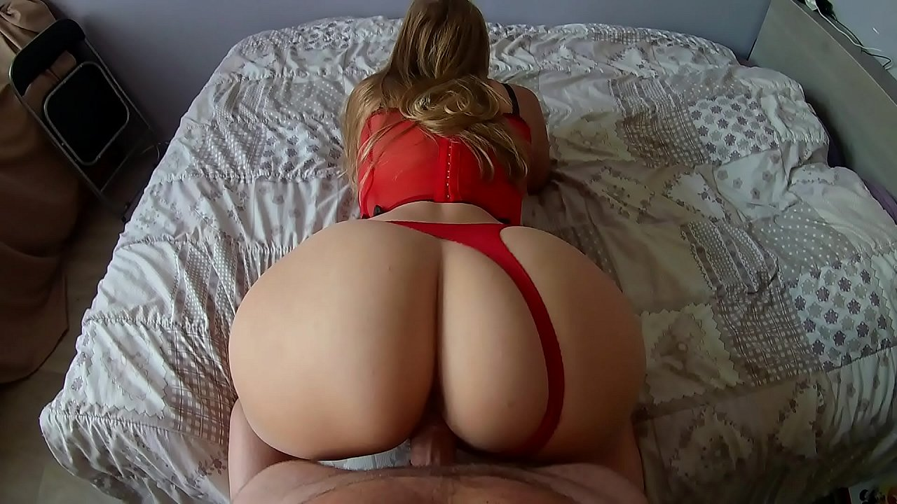Big Booty White Girl Gets Bbc