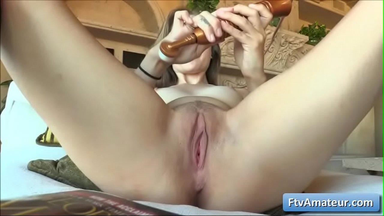 Amateur First Sybian Orgasm