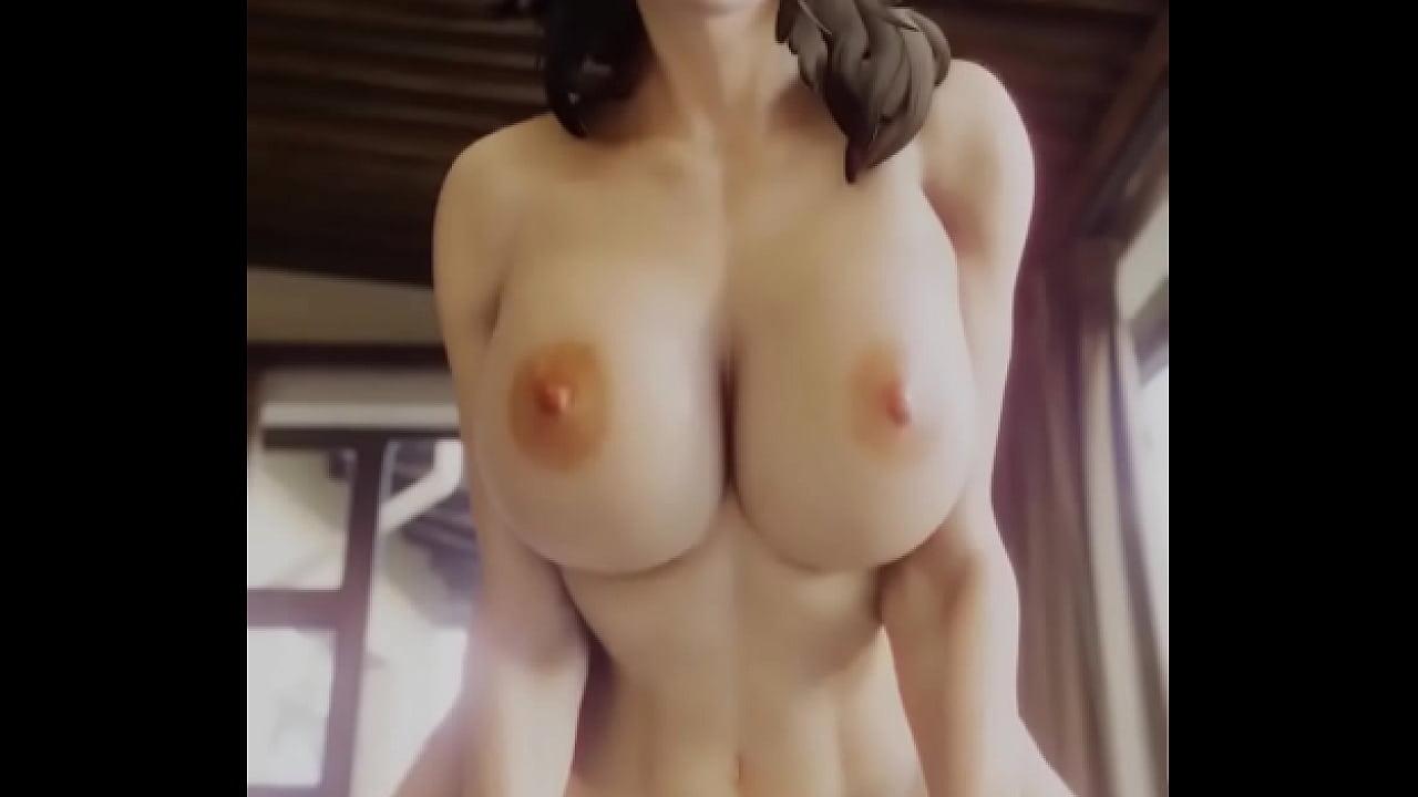 「Admiring Miranda's Body」by Bewyx [Mass Effect SFM Porn]