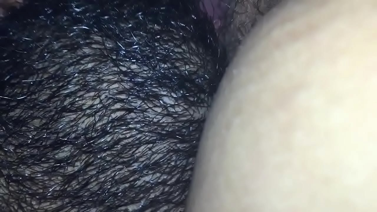 Beating Her Ebony Pussy Up