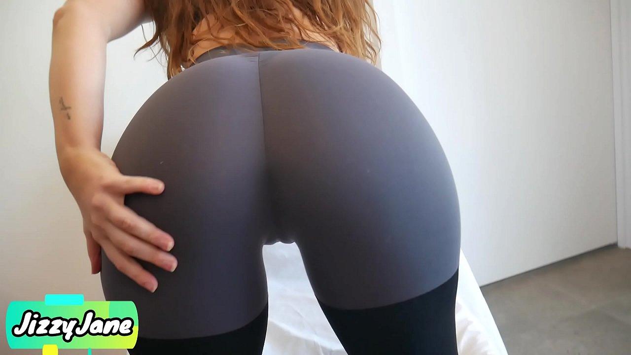 Fit Girl Fucked Yoga Pants