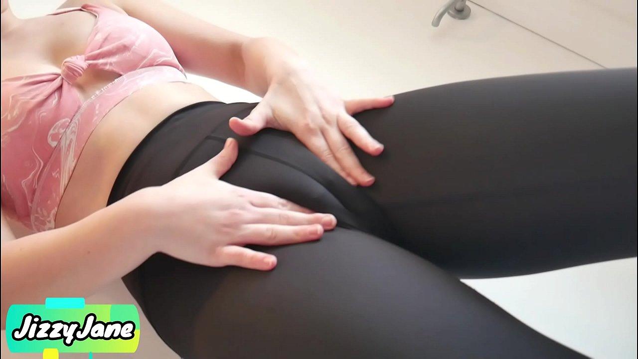 Latina Yoga Pants Masturbation