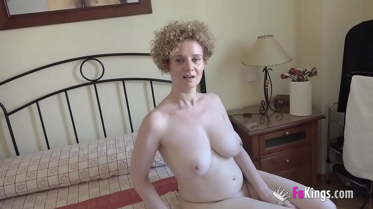 Her husband is away! Mercé. the GIANTLY TITTED MILF that loves fucking noobs