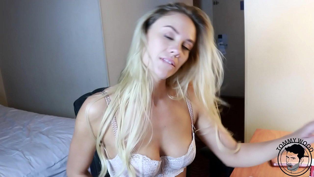 Lucky Guy Fucks Horny Blonde