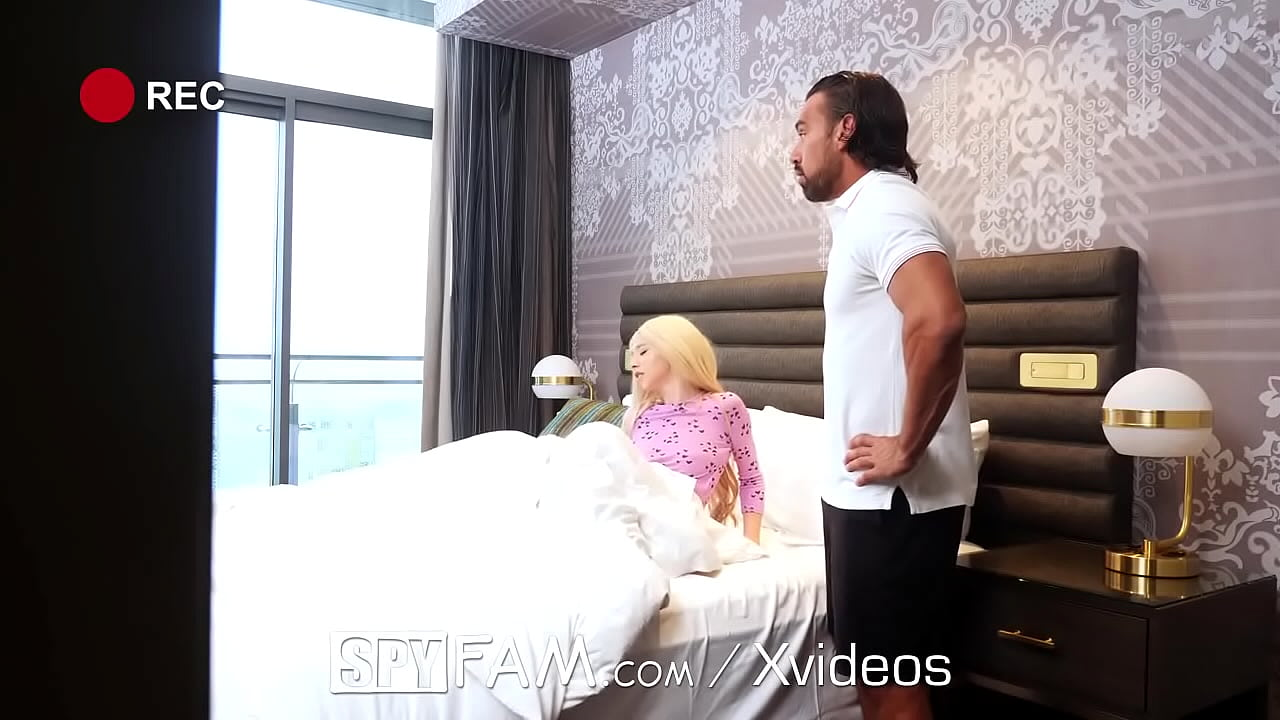 SPYFAM Step Dad Vacation Spontaneous Shower Sex