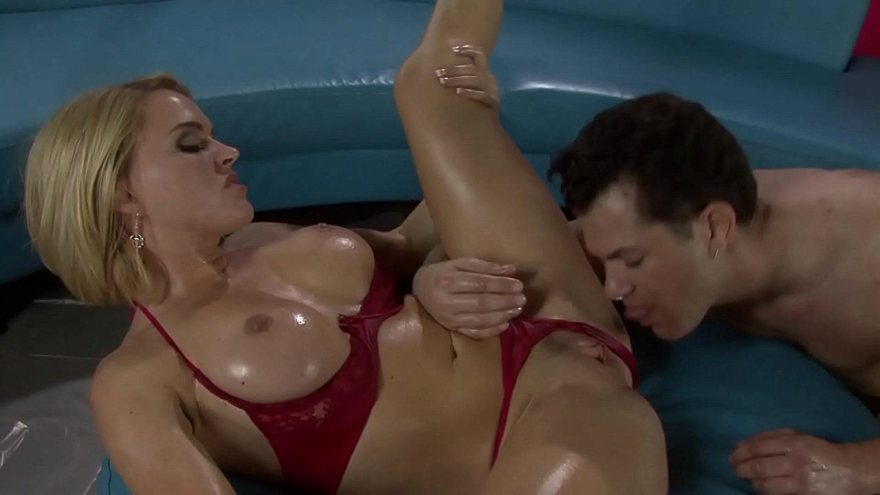 Busty Milf Takes Huge Cock