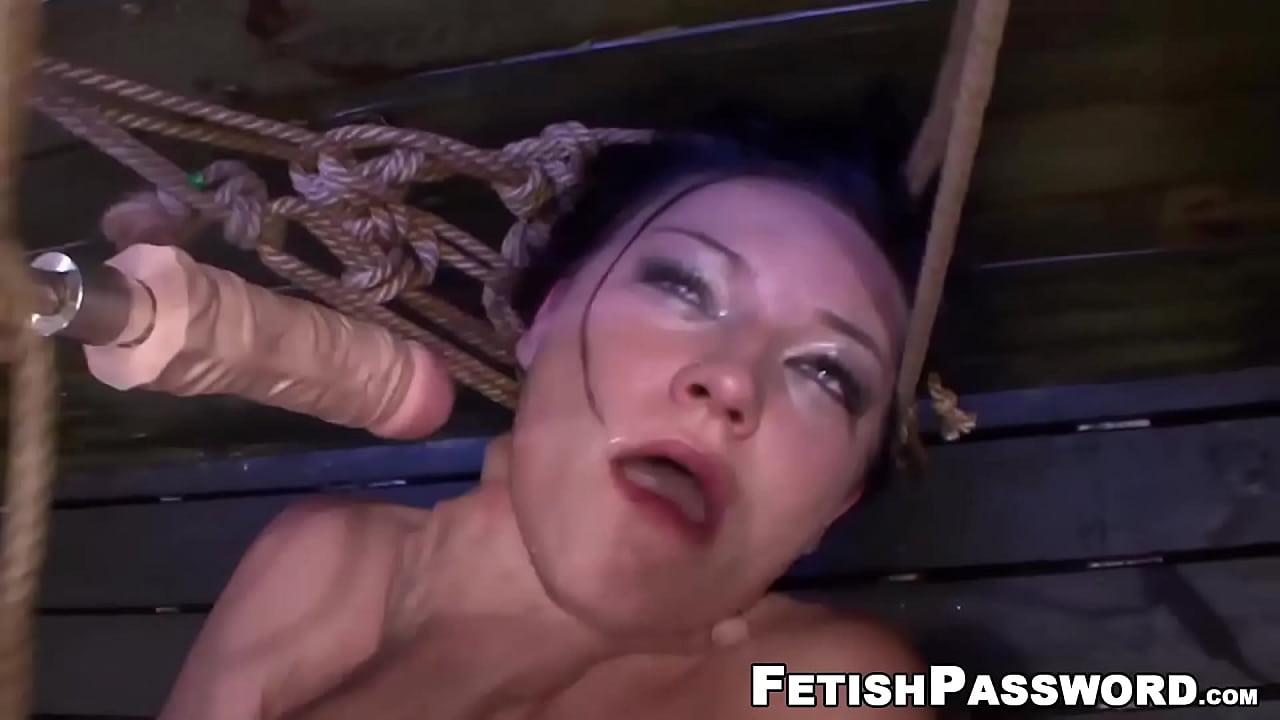 rough bondage fuck machine
