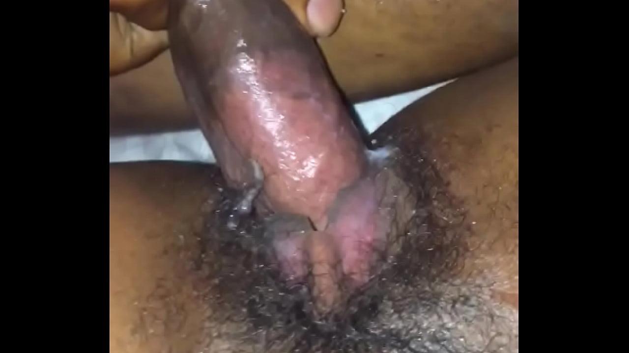 Hairy Pussy Dripping Cum