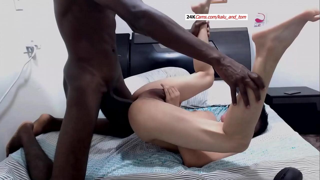 porn xxx ไอ้หนุ่มก้านยาวนิโกรควยใหญ่ยาว เย็ดเกย์ฝรั่งตัวเล็กขาว อย่างเด็ด