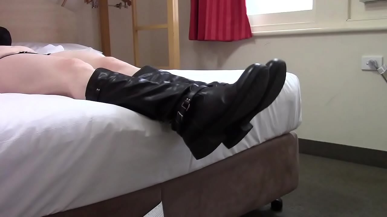 Milf stinky boots and soles