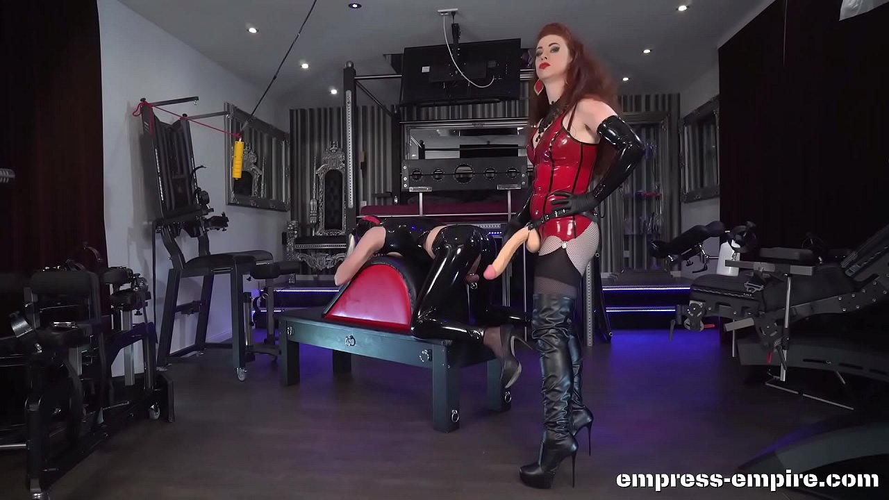 Sissy Fuck mare is broken in anally