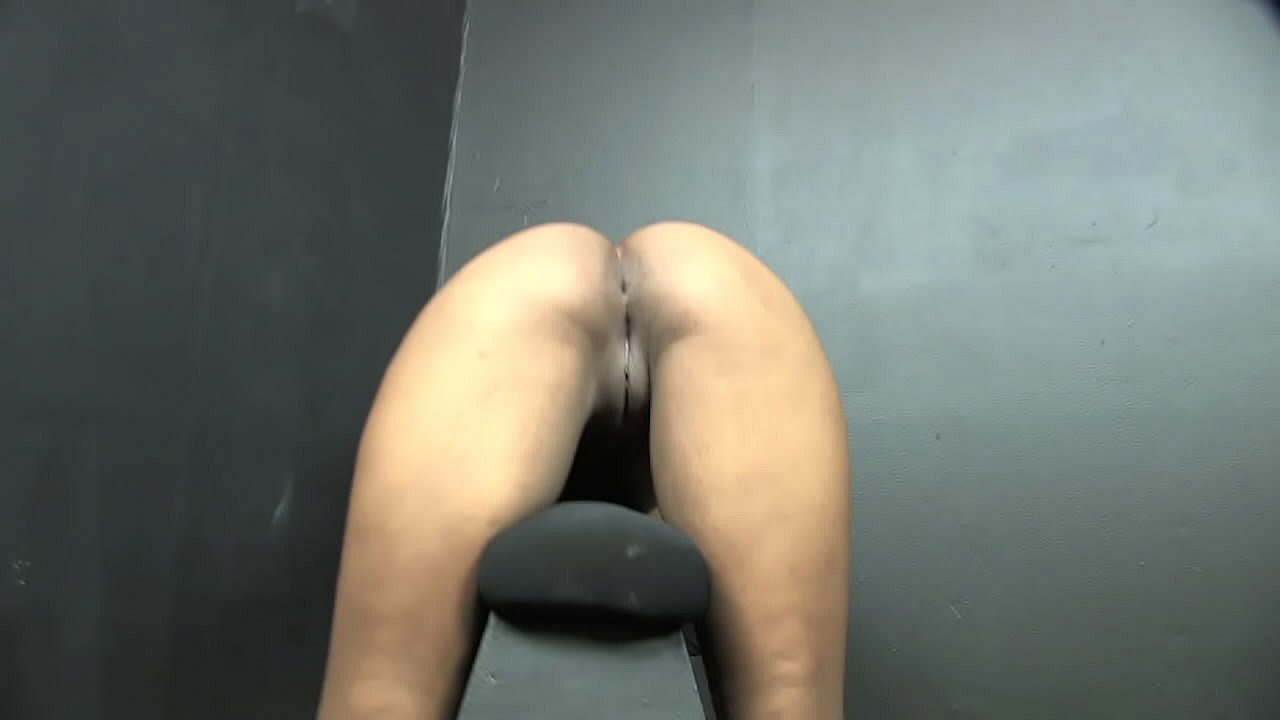 Stasia B Farting on a Sawhorse BDSM Stool