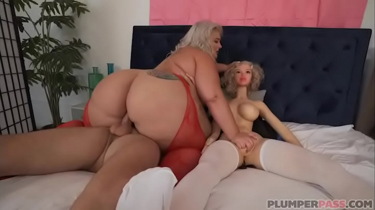 Huge Booty Bbw Threesome