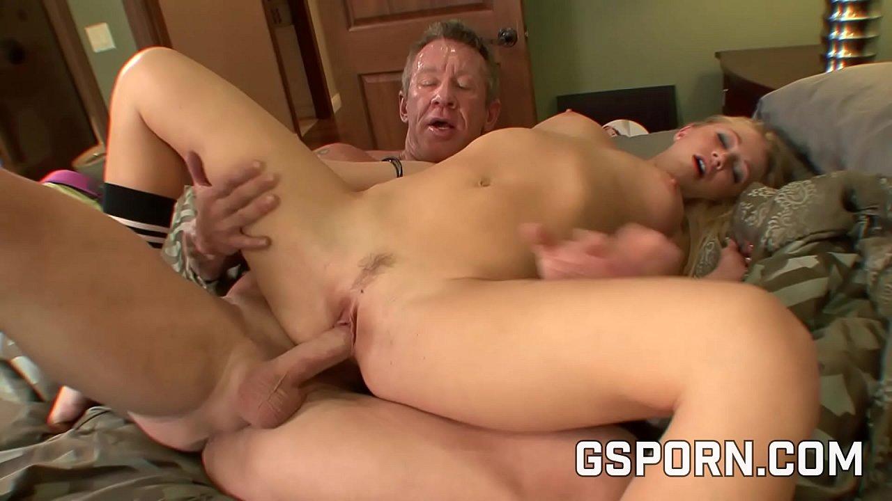 Old Russian Man Fucks Young