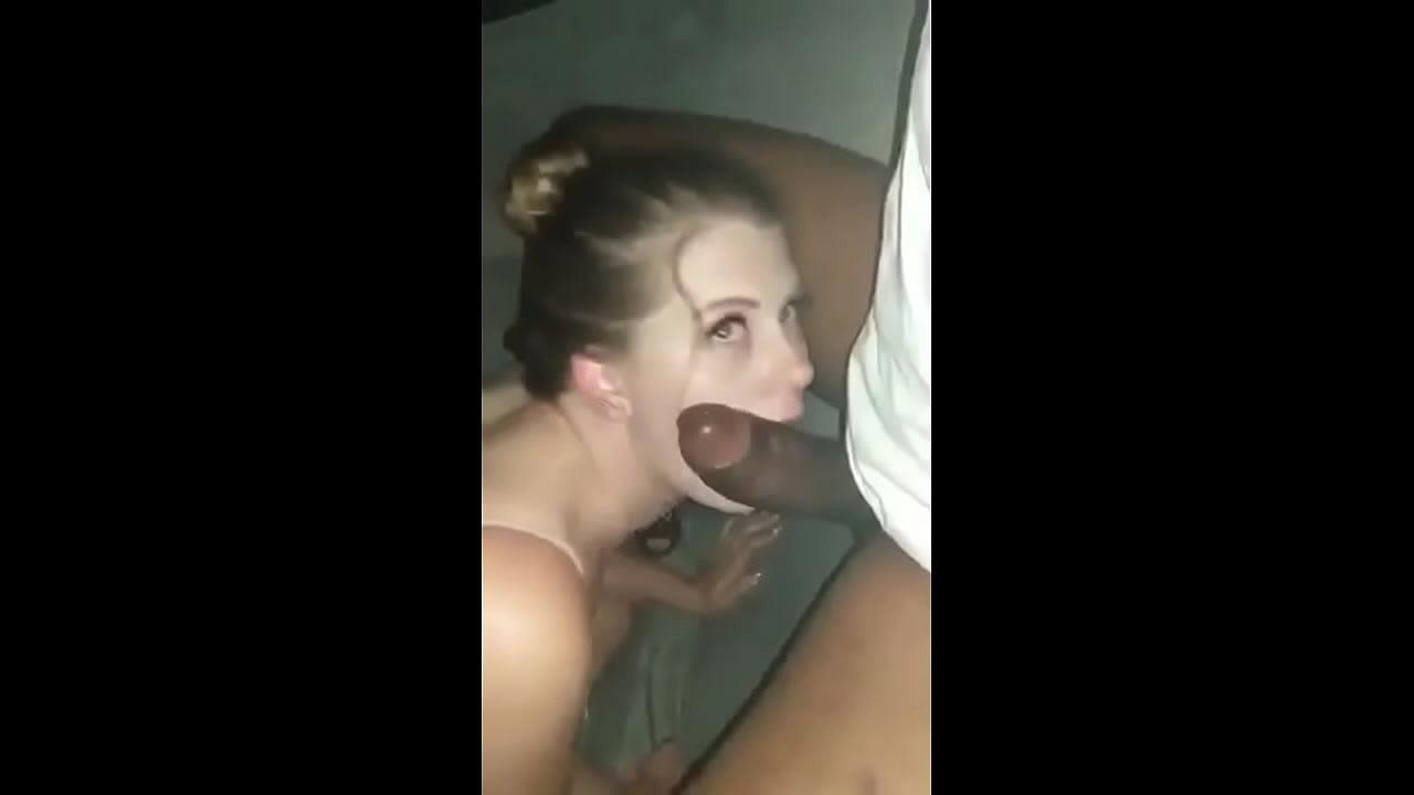 Young White Teen Sucks Bbc