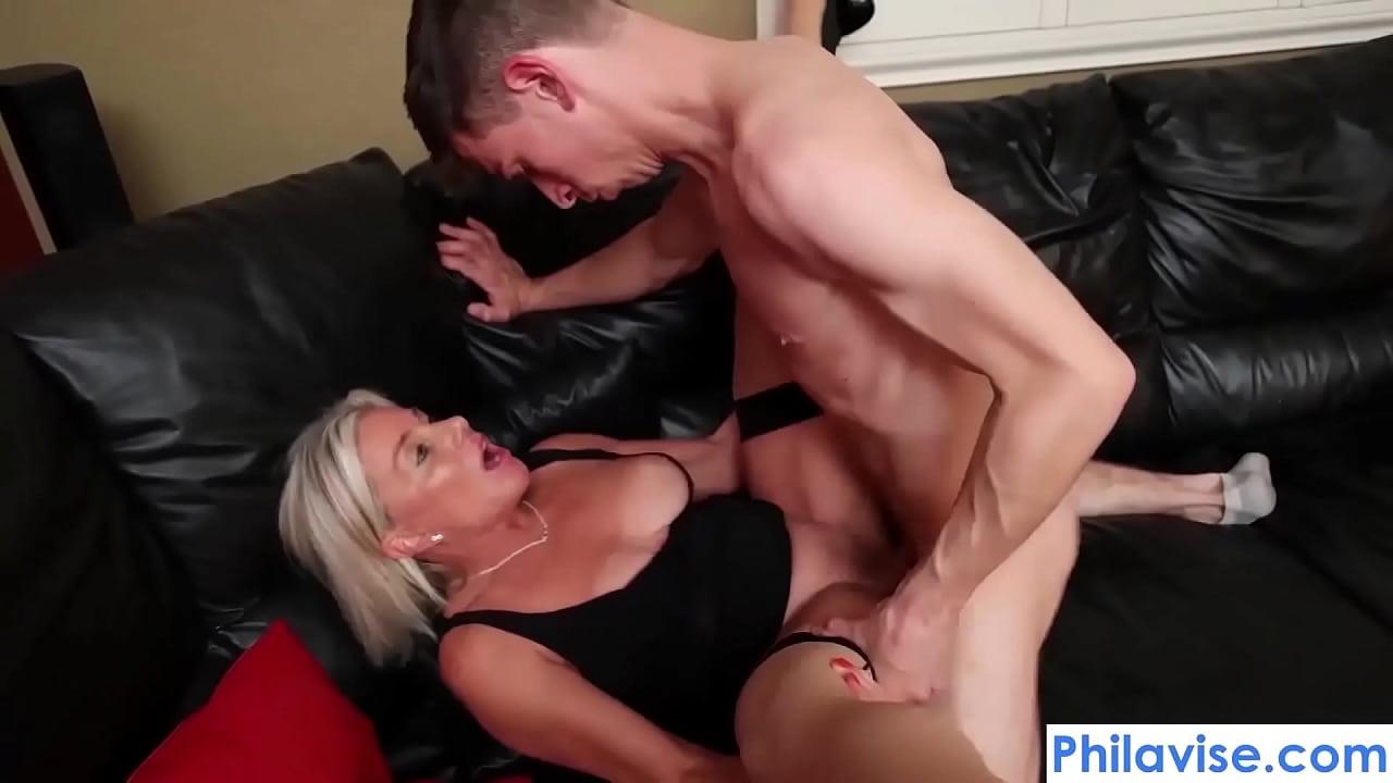 Mature Wife Fucks Young Stud