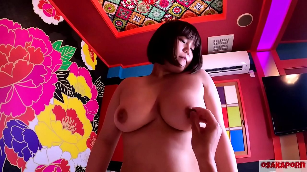 Plump Japanese Babe Takes Facial at Love Hotel