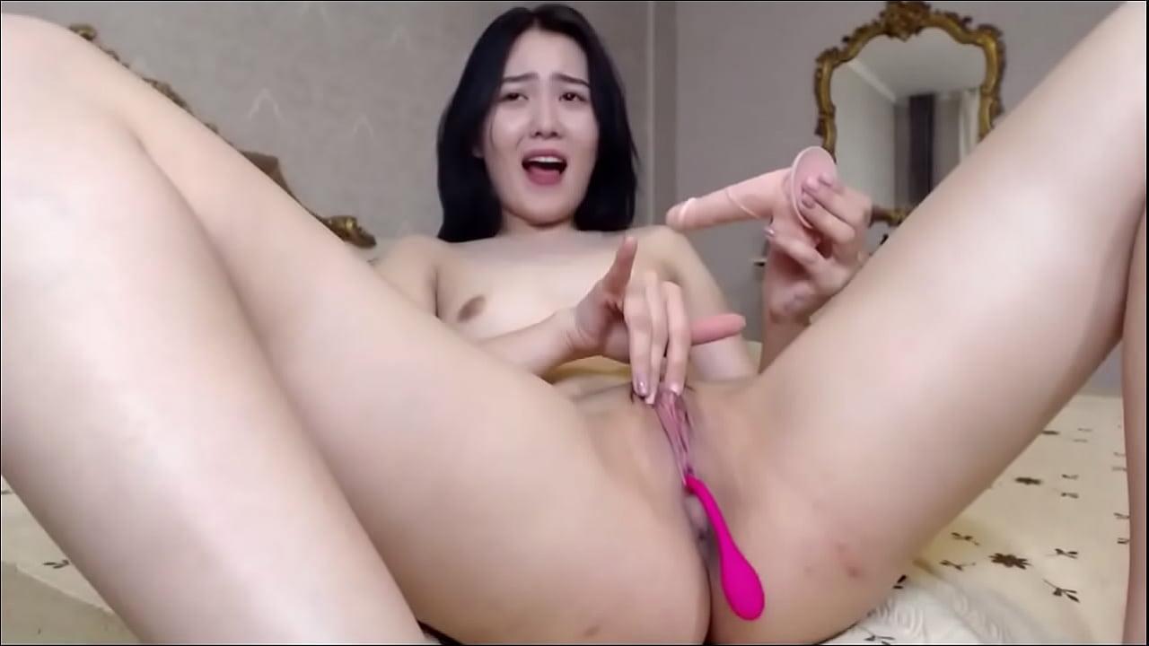 Korean thủ dâm bằng đồ chơi tình dục