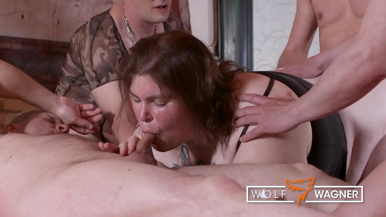overweight swinger group sex