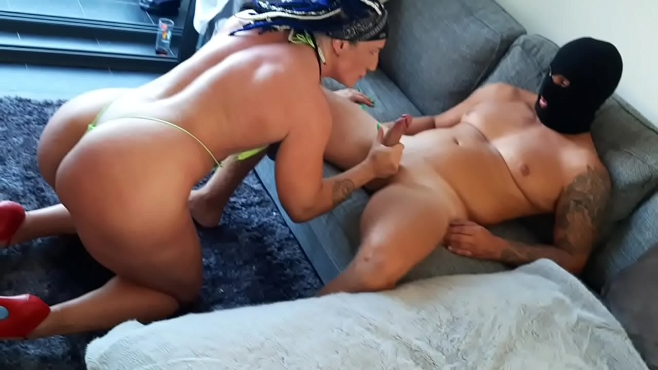 Cum All Over Hairy Pussy