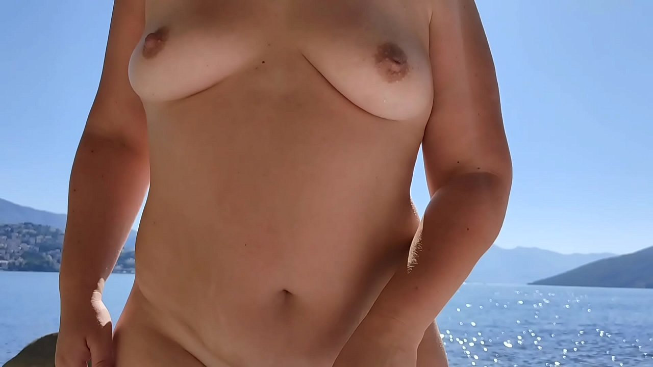 Step Mom Fucking On A Nuduistic Beach With Stepson While Husbands Swim.  - 15