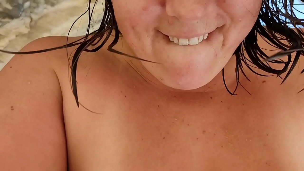 Step Mom Fucking On A Nuduistic Beach With Stepson While Husbands Swim.  - 25