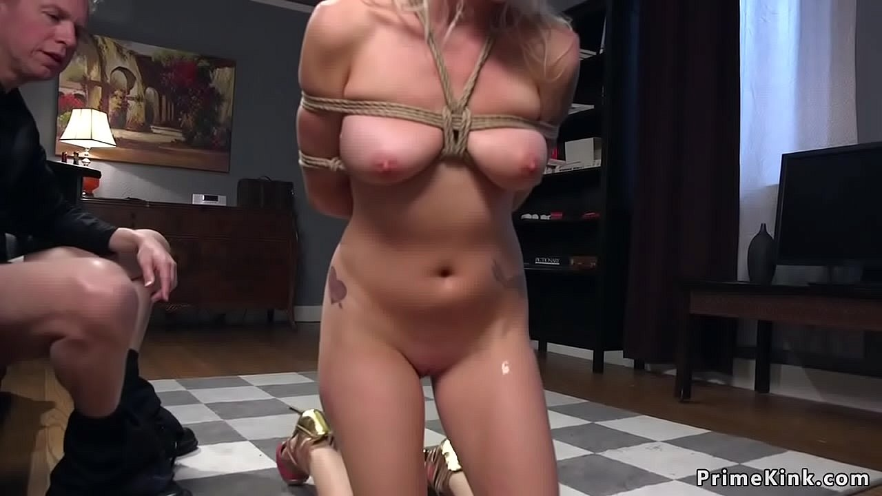 Cheating Wife Tied