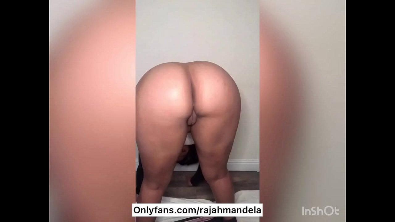 Ebony Big Booty Dildo Ride
