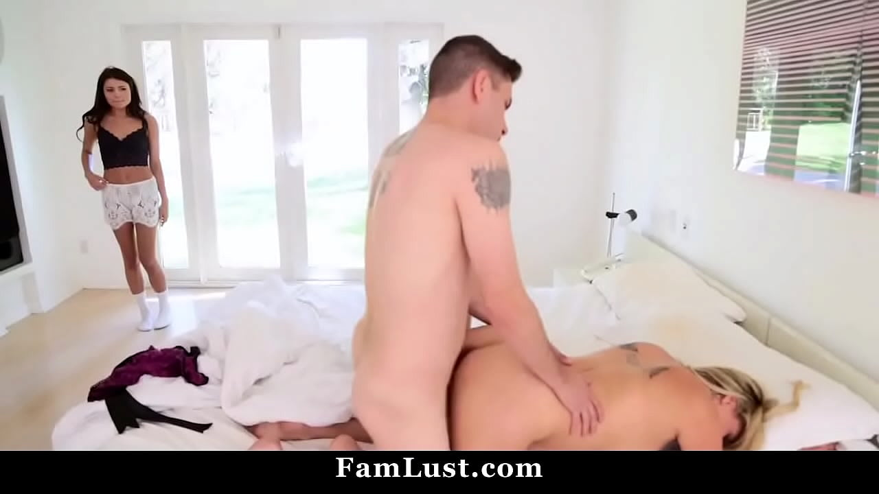 Two Hot Teens Threesome