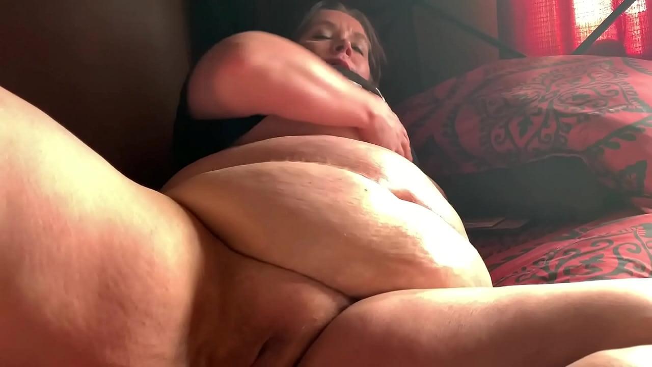 Ebony Bbw Moaning Masturbation