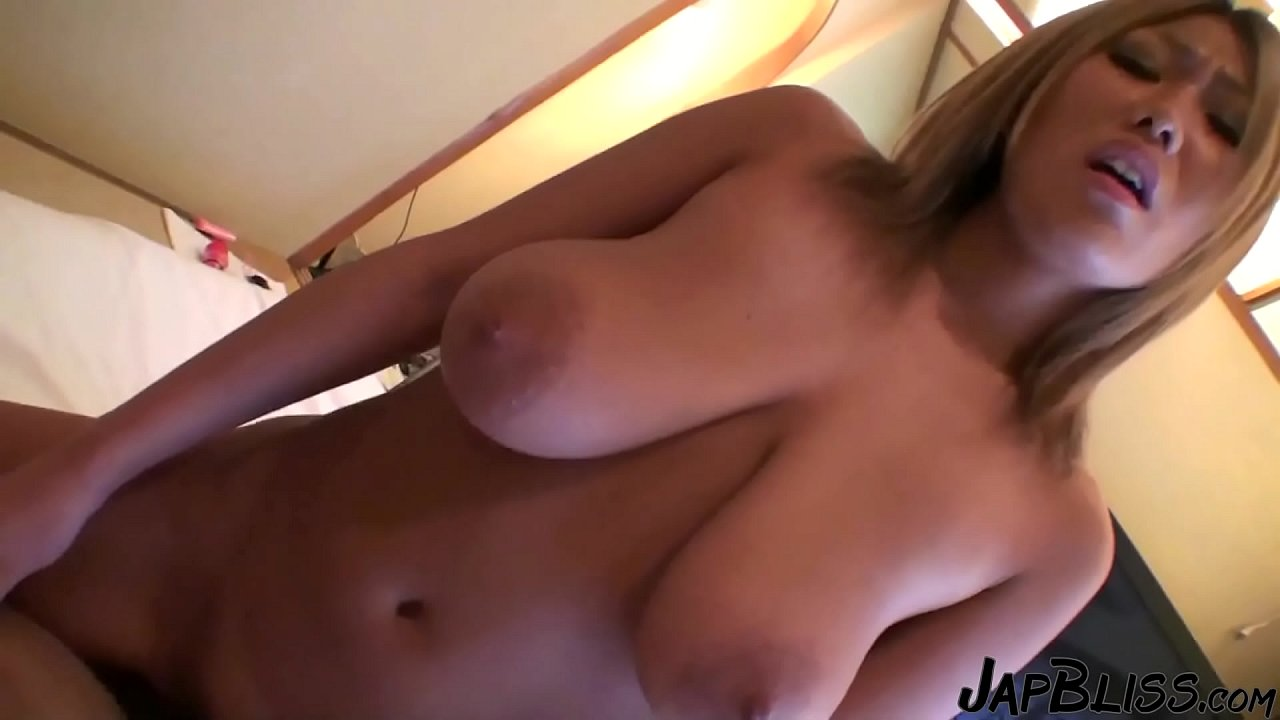 Japanese Big Boobs Slut Gives Killer Blowjob