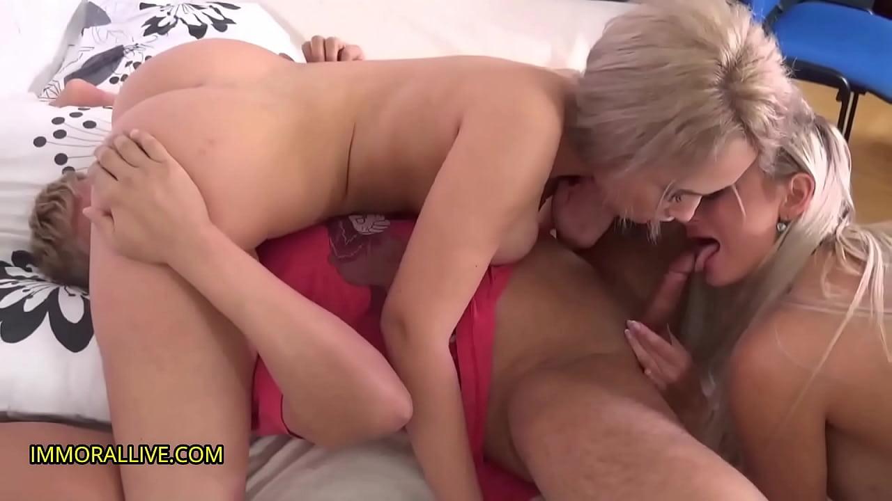 Amazon Warriors Make Porno Dan Their Sex Slave! Part 1 of 2  thumbnail