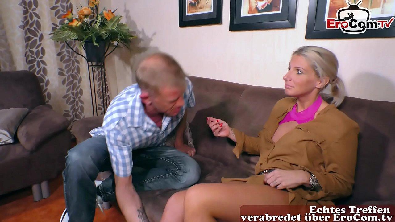 Amateur-Frau schluckt Freund