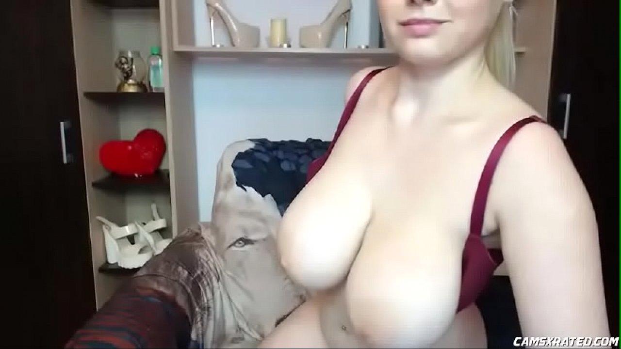 Blonde Schoolgirl Big Tits