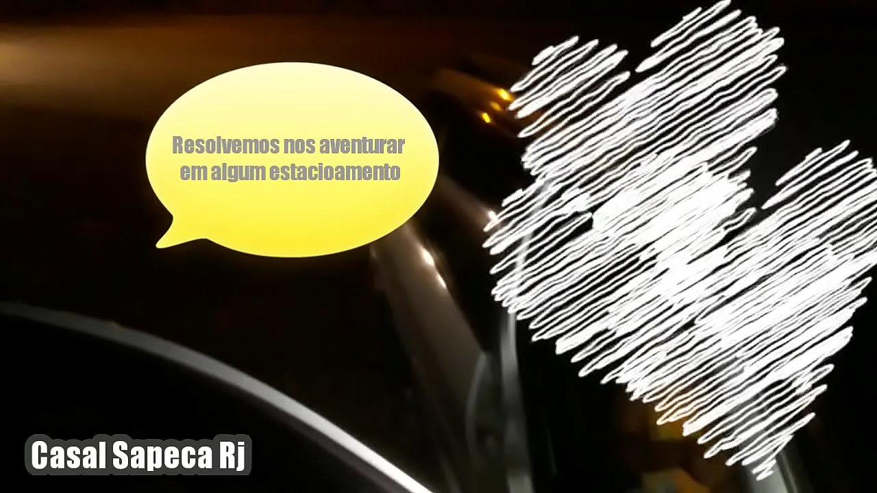 Marido corno chama comedor desconhecido que passava na rua pra fuder esposa Safada em quiosque de Praia na Barra da Tijuca enquanto ele filma  - Casal Sapeca RJ - Dogging