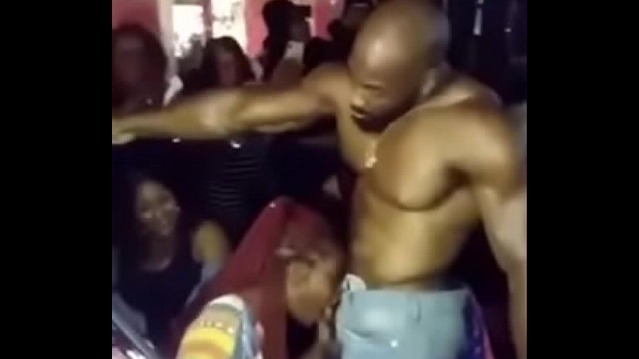 Ghetto Ebony Sloppy Blowjob