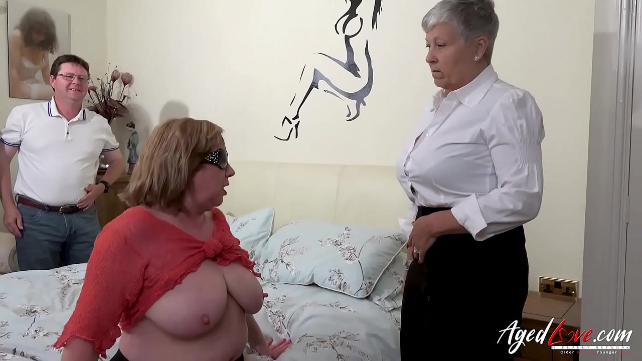 Busty British Milf Lesbian