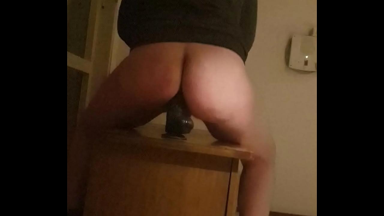Big Ass Riding Dildo Bbw