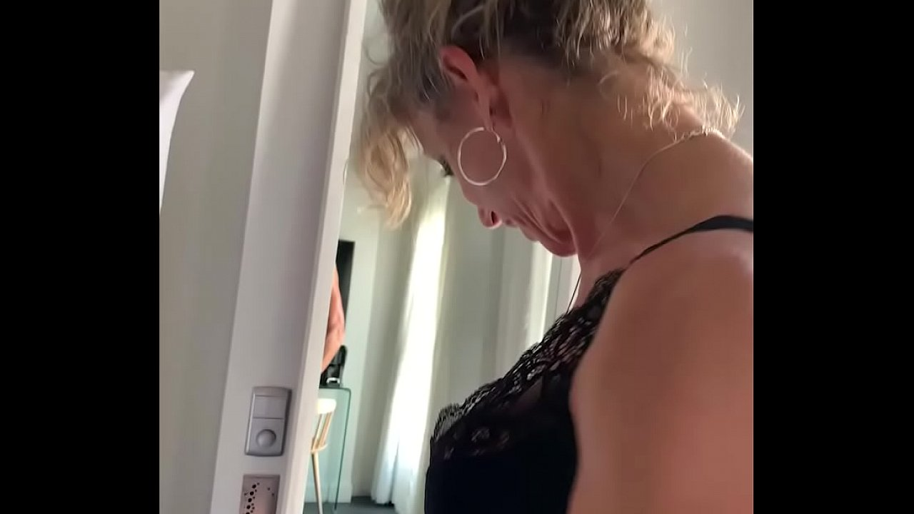 French blond MILF Marina Beaulieu gets fucked by a... thumbnail