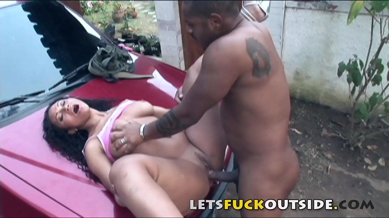 Ebony Fucked High Heels