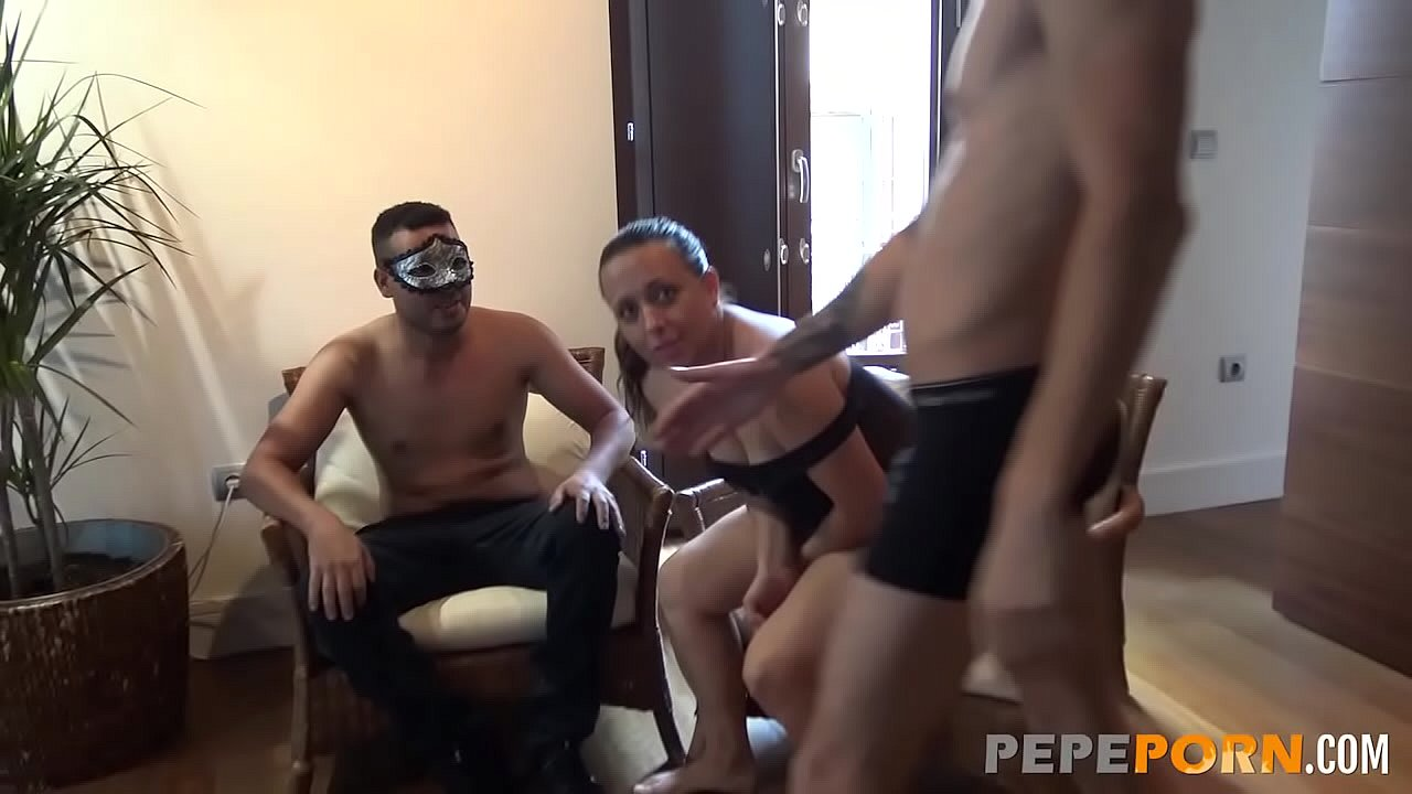 The experience of having your wife impaled by a stranger's cock