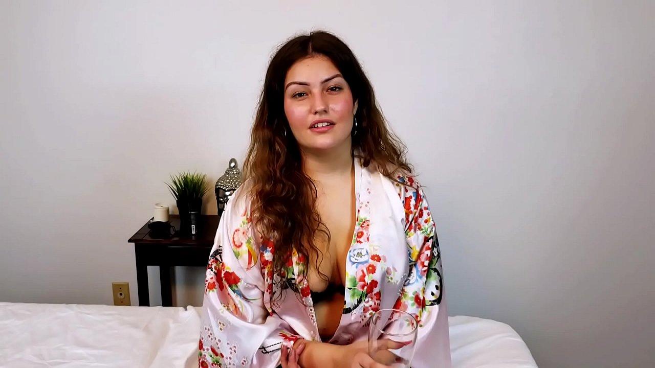 Shy Brunette Kennedy Gets A Massage